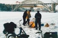 På Årstavikens is jan 2003