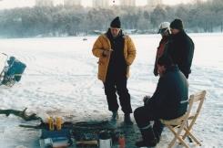 Aphängarn på Årstaviken jan 2003