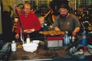 Gemensam grillning i verkstan 2003
