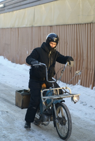 BP laddad för vinterrace